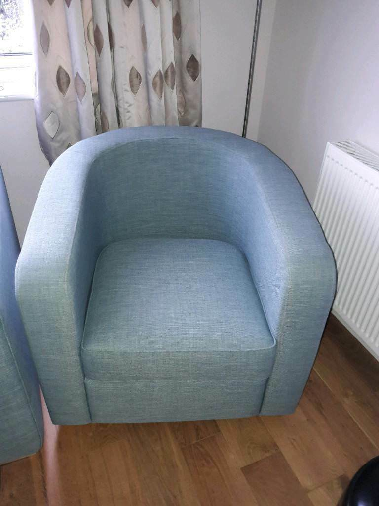 3 seater sofa and matching tub chair | in Maidstone, Kent | Gumtree