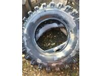 Mitas 10.00-20 new tyres x 3 with tubes and flaps