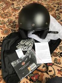 Bell Harley Davidson Open Face Helmet