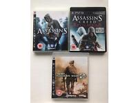 PS3 games bundle - price reduced
