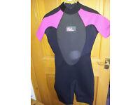 Ladies Wetsuit Billabong Size 14