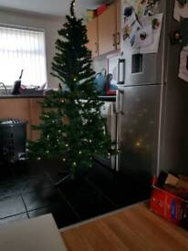 6ft pre lit Christmas tree