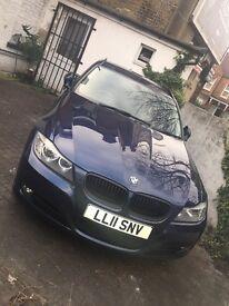 BMW Estate Car Dark Blue
