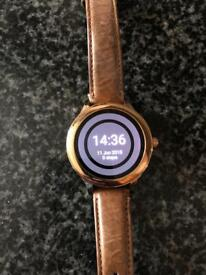 Fossil Q smart watch , women's. With box and charger.