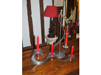 Two Candle Holders