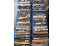 Blu ray bundle 70 total inclunding 3d