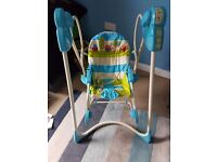 Fisher price 3 in 1 swing and rocker baby swing