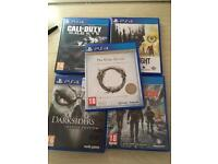 PS4 GAME BUNDLE CHEAP PERFECT CONDITION