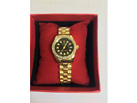 Ladies Rolex Datejust Gold Watch, Metal Strap *1st Class Postage Available*