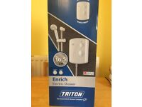 Triton electric shower 10.5 Brand new in box