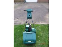 Qualcast 30s self drive petrol mower with grass box