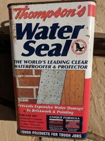 Thomson's Water Seal for Brickwork & Stone. Water Proofing & Protecting