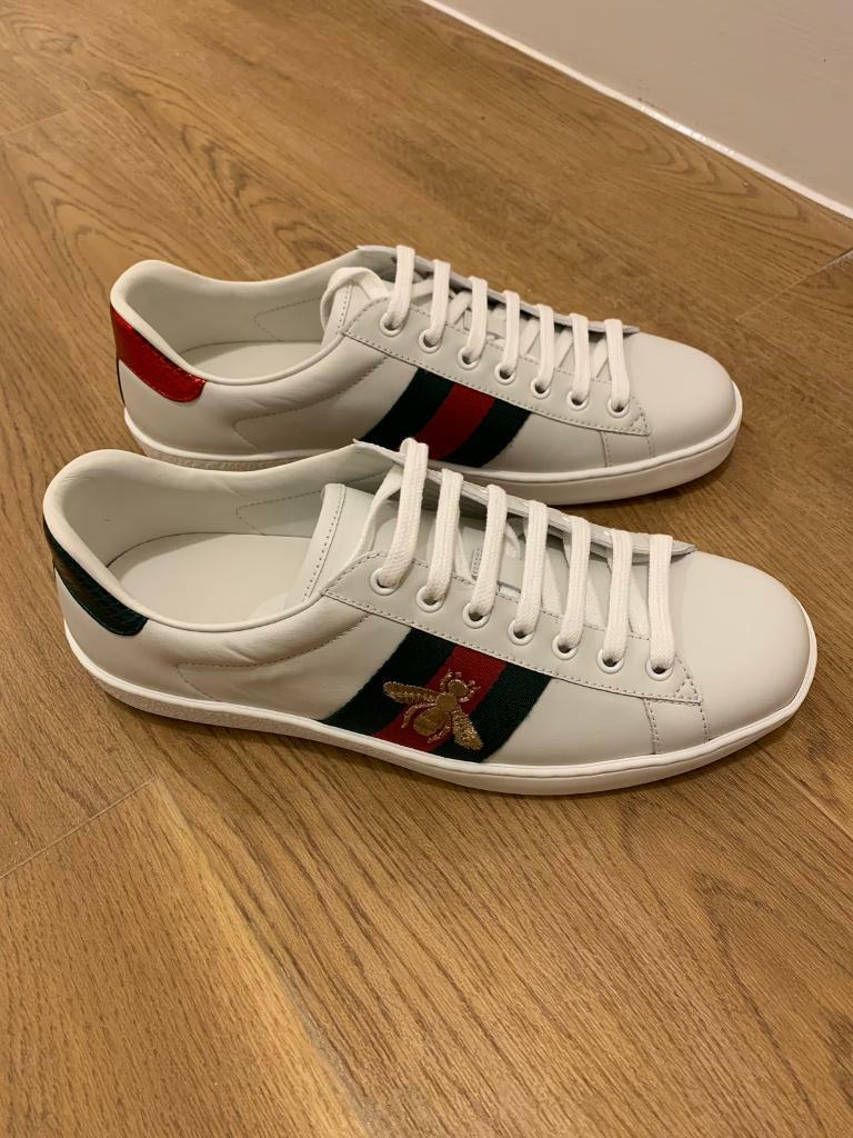b1b0e9c173e GUCCI Ace Embroidered Low-top Sneakers UK7