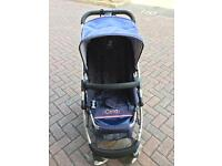 iCandy cherry pushchair with carrycot and changing bag