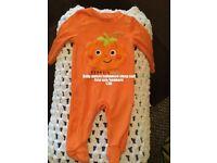 Unisex Halloween onesie/sleep suits