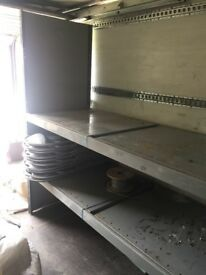 Heavy duty steel racking