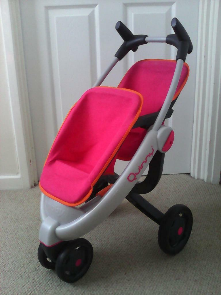 Dolls Prams Quinny Smoby Quinny Double Dolls