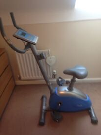 Kirsty Gallagher Exercise Bike