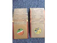 30 vinyl records