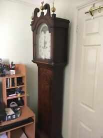 Grandfather Clock by Samuel Cowfell of Hitching.
