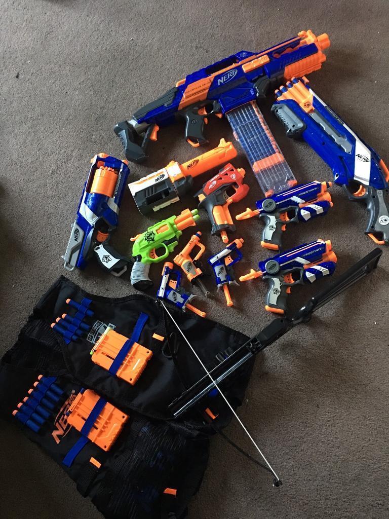 Nurf gun collection