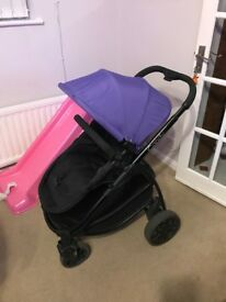 Icandy strawberry 2 in purple. Excellent condition