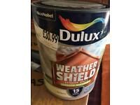 Brand New Weathershield Masonary paint
