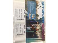 2x Thorpe park tickets 6th September 17