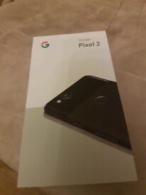 Pixel 2 64gb black (new)