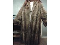 womens vintage fur coat