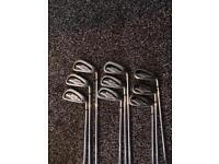 Callaway X14 Steelhead pro irons 3-sand