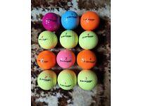 Colour Golf Balls (12No)