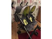 Mothercare Double Buggy As new