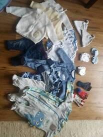 Baby clothes bundle newborn 0-1m