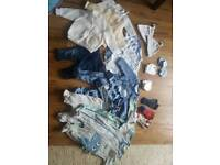 Baby clothes bundle newborn 0-1m