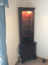 John Coyle corner display unit