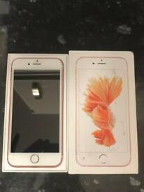 iPhone 6s 16GB Rose Gold - AS NEW boxed