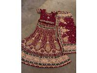 Asian indian wedding lengha