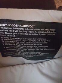 2 x City Babyjogger Carrycot