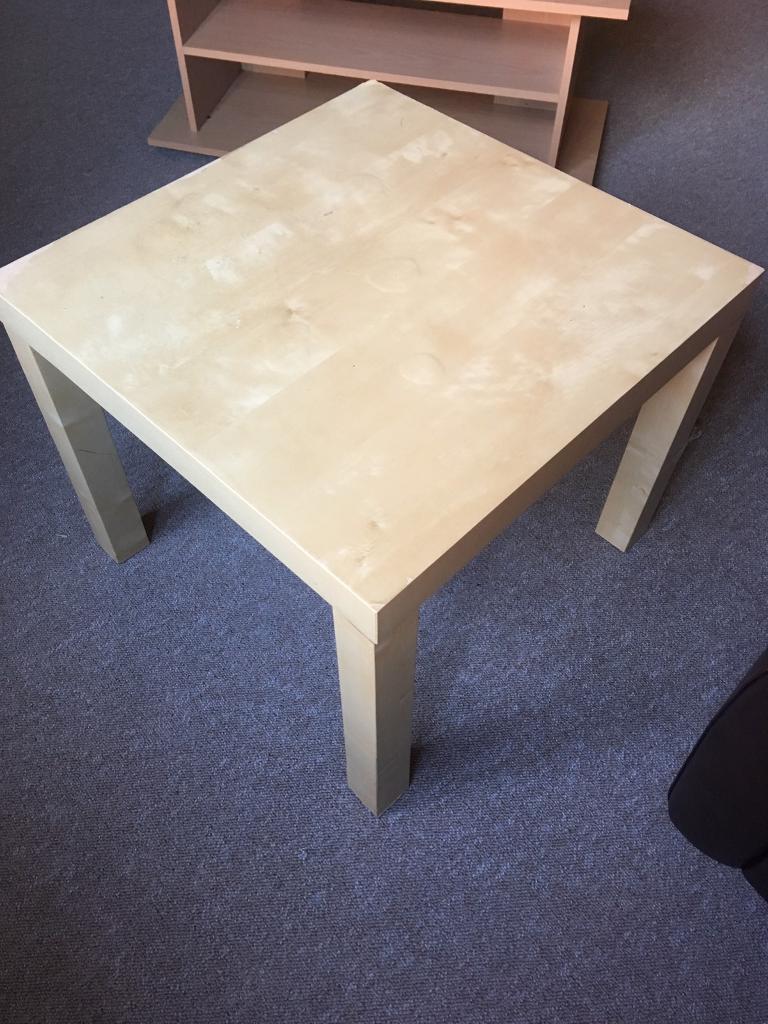 Beech side table free