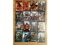 Marvel characters Dvds
