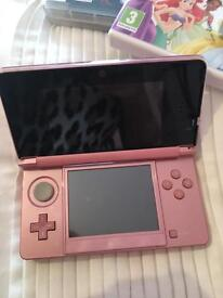 Pink Nintendo ds and accesories