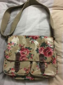 Flowery Cath Kidston Saddle Bag. Used in good condition.