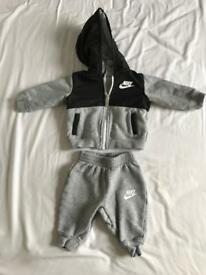 Nike baby tracksuit used