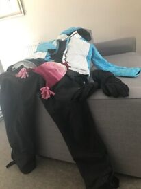 Ski Suit and accessories for sale