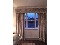 Pelmets, curtains, Roman blinds, cushions. Made to measure