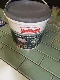 Grout and adhesive