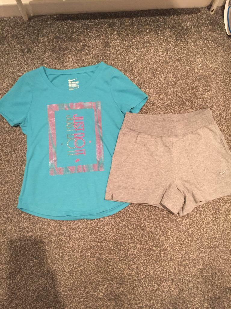 910e9e6a Nike Shorts And T Shirt Outfit - Aztec Stone and Reclamations