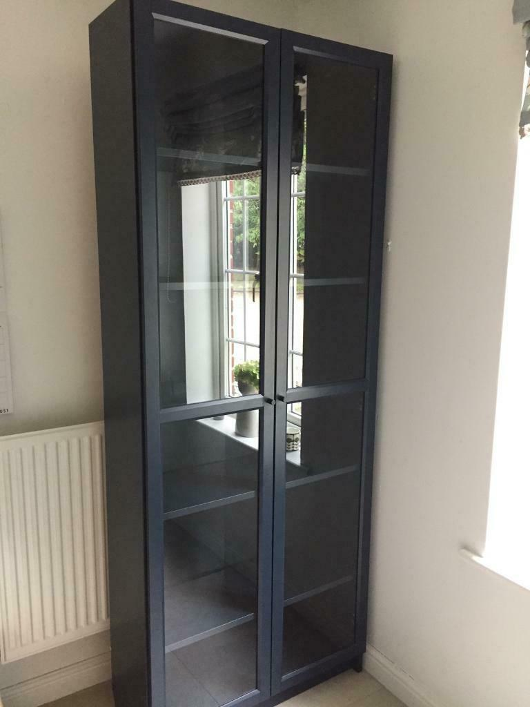 Billy Bookcase With Glass Doors In Ferndown Dorset Gumtree