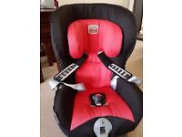 Britax Safefix TT Group 1 carseat with Isofix- excellent condition and quality